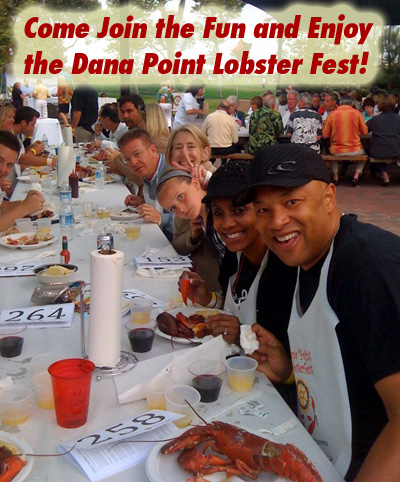 Come Join the fun and enjoy the Dana Point Lobster Fest June 25 - BUY YOUR TICKETS TODAY