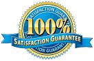 100% Satisfaction Gauranteed
