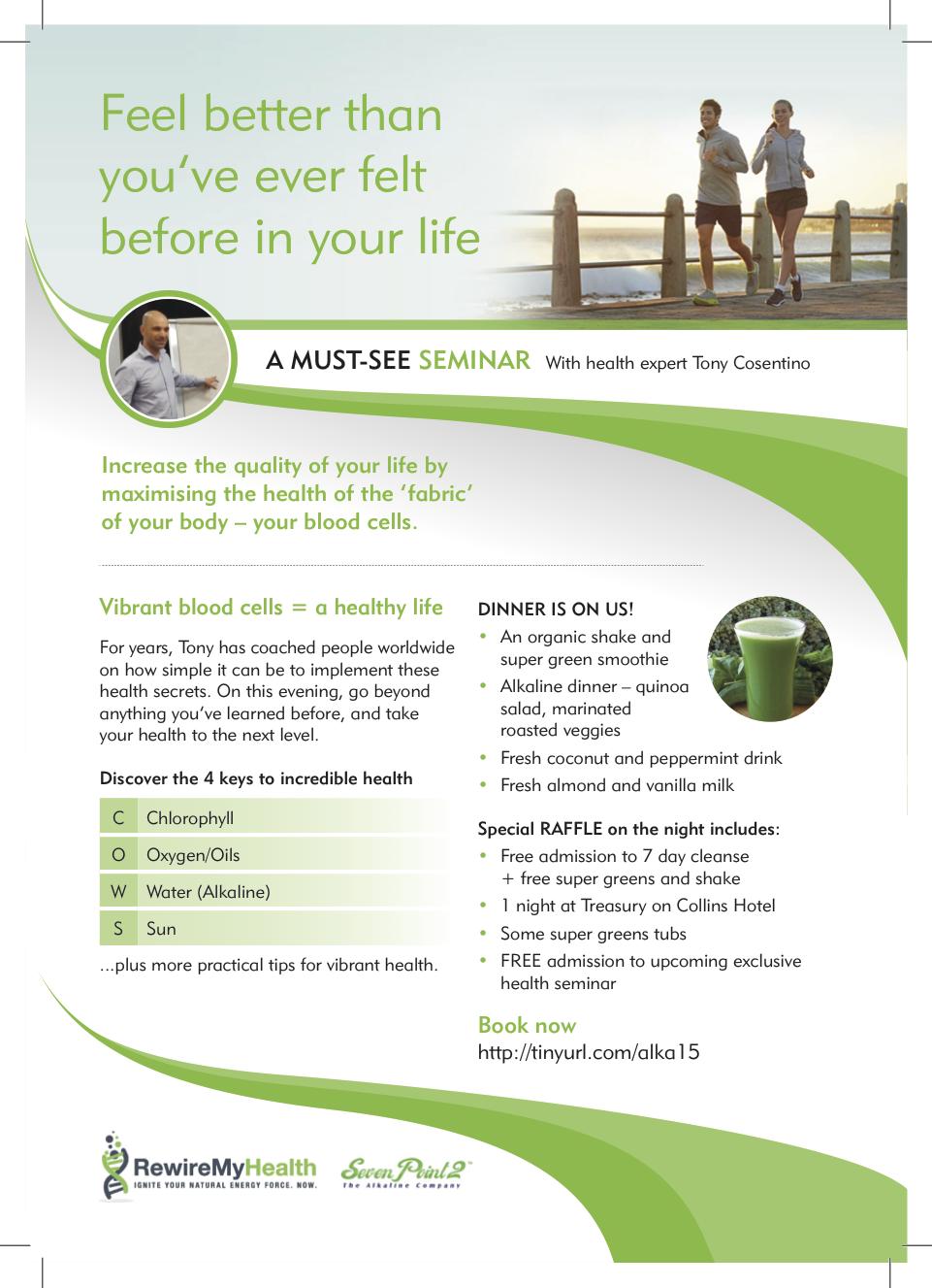 Health and Energy Seminar