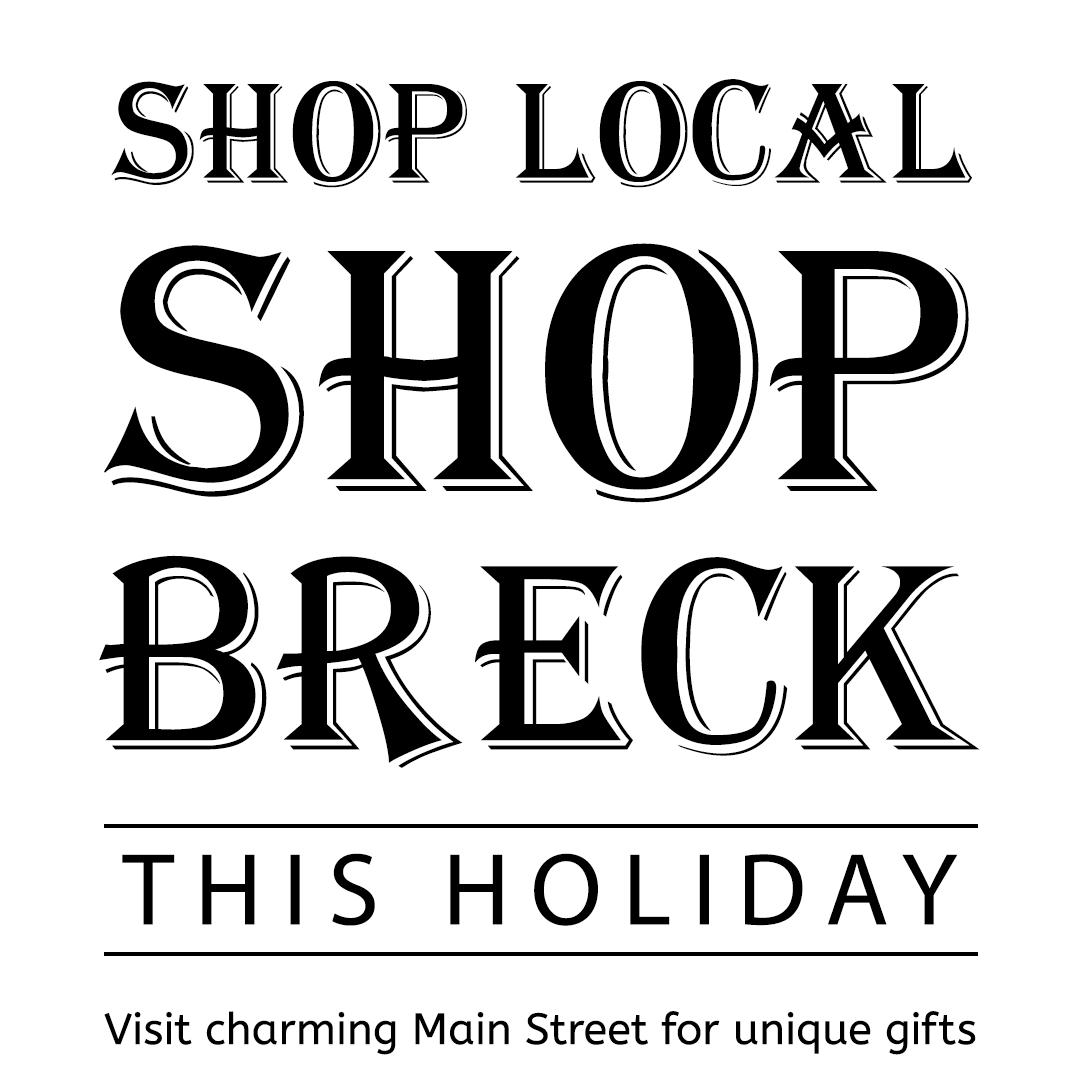 Shop Local Shop Breck Logo