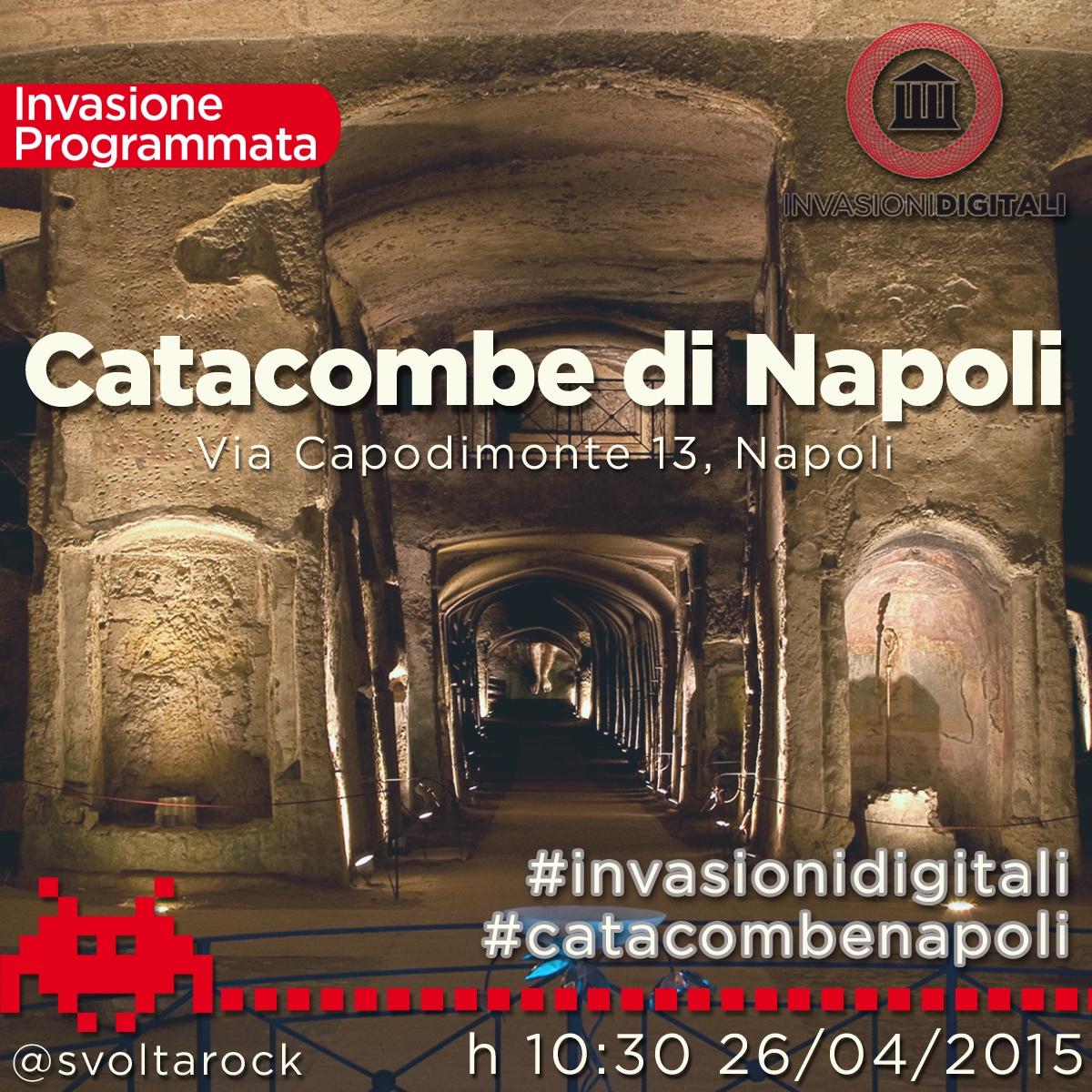 Invasionidigitali catacombenapoli invasione digitale alle catacombe - Invasione di formiche in cucina ...