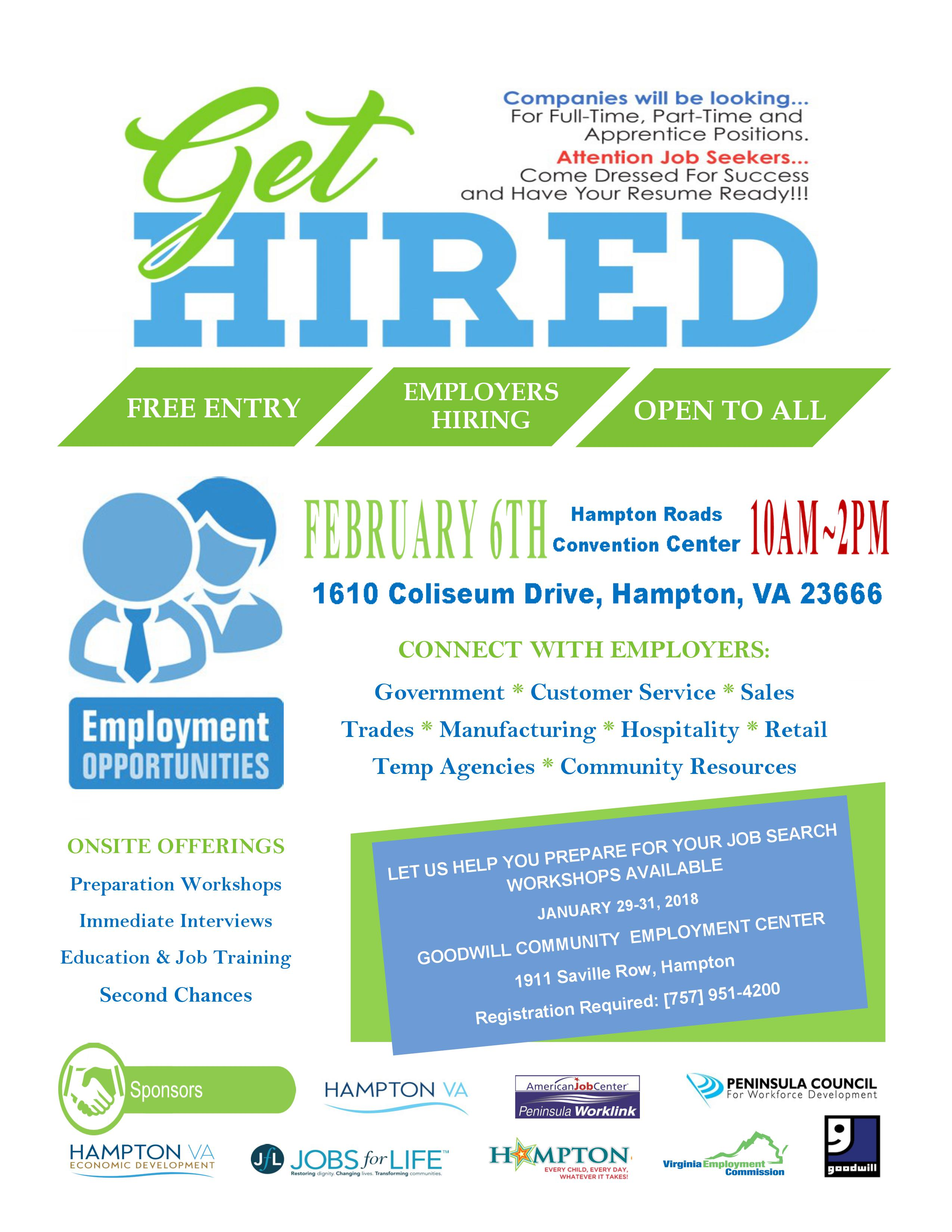 Get Hired & Resource Fair