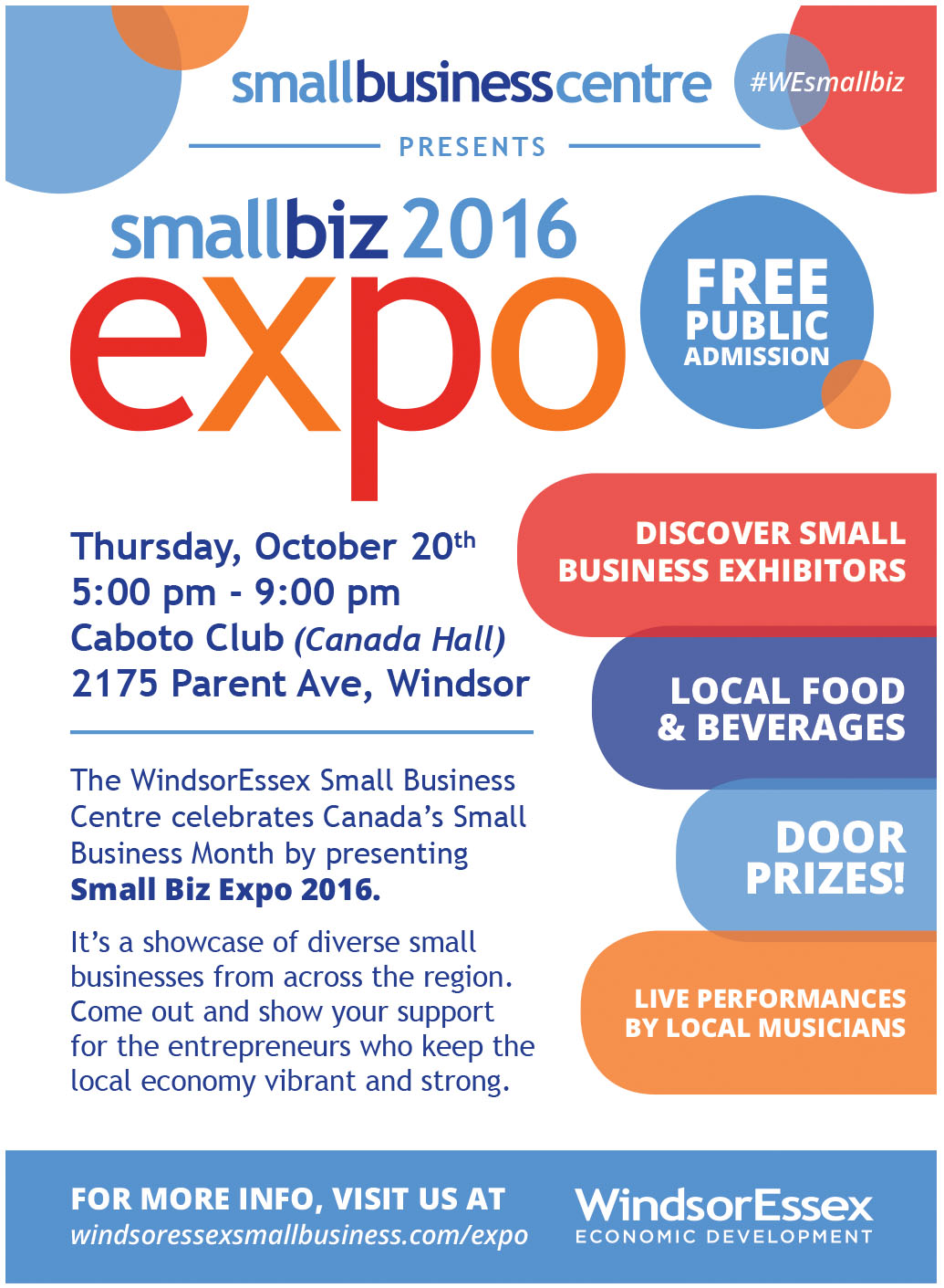 Small Biz Expo 2016 Poster
