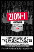 Zion I & Mistah Fab at Phoenix Theater