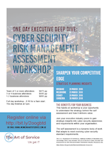Cyber Security Executive Workshop Brochure 2018