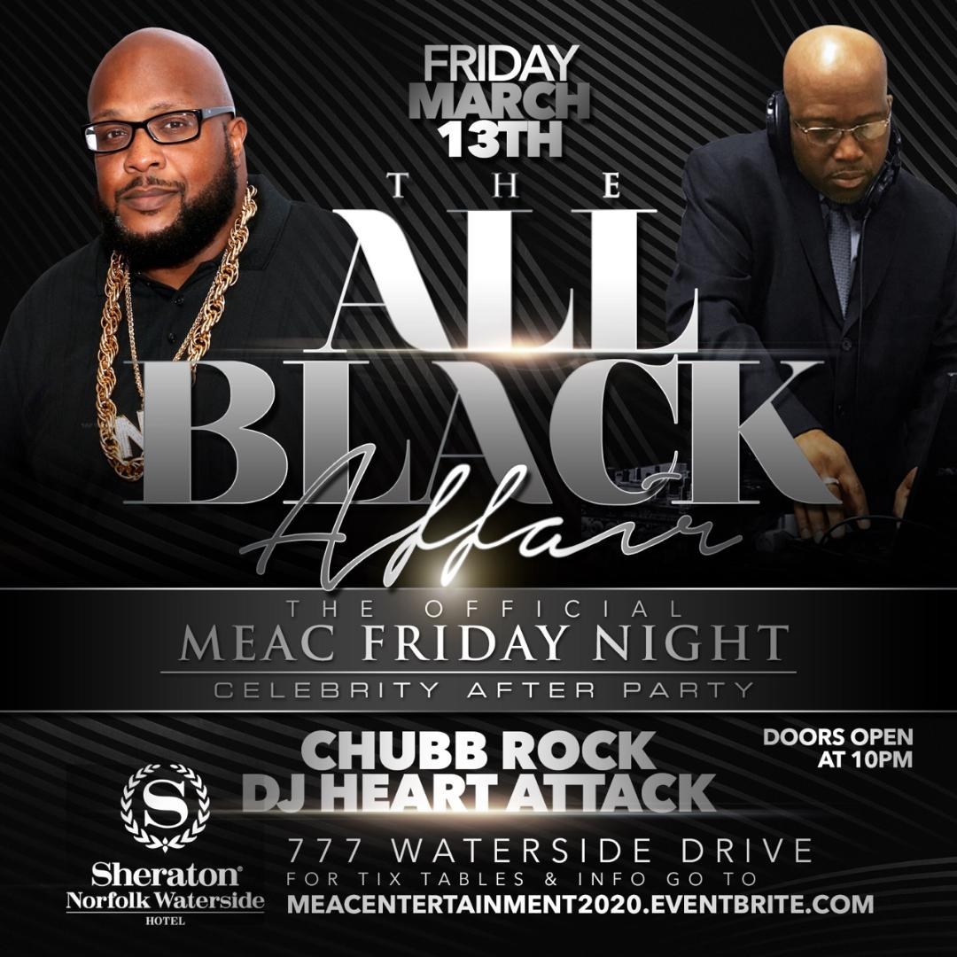 MEAC 2020 Friday Night All Black Affair