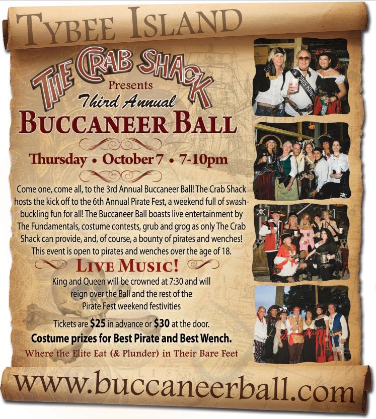 Buccaneer Ball Poster