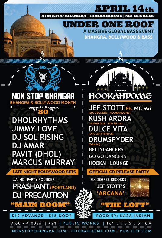 Non Stop Bhangra/Hookadome