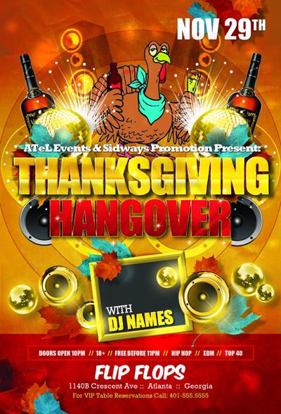 Thanksgiving Hangover