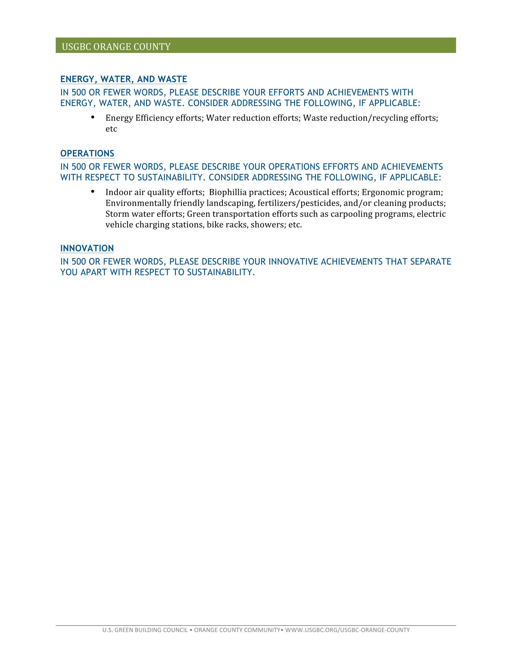 Eco Award Instrux 3