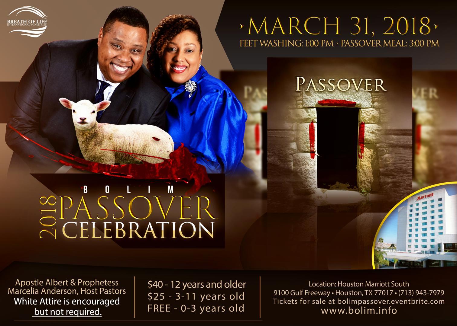 BOLIM Passover 2018