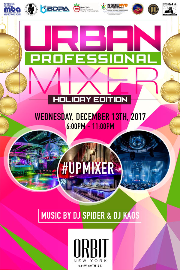 Urban Professional Holiday Mixer