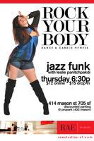 RAE Studios: JAZZ FUNK (Thurs 6:30pm)