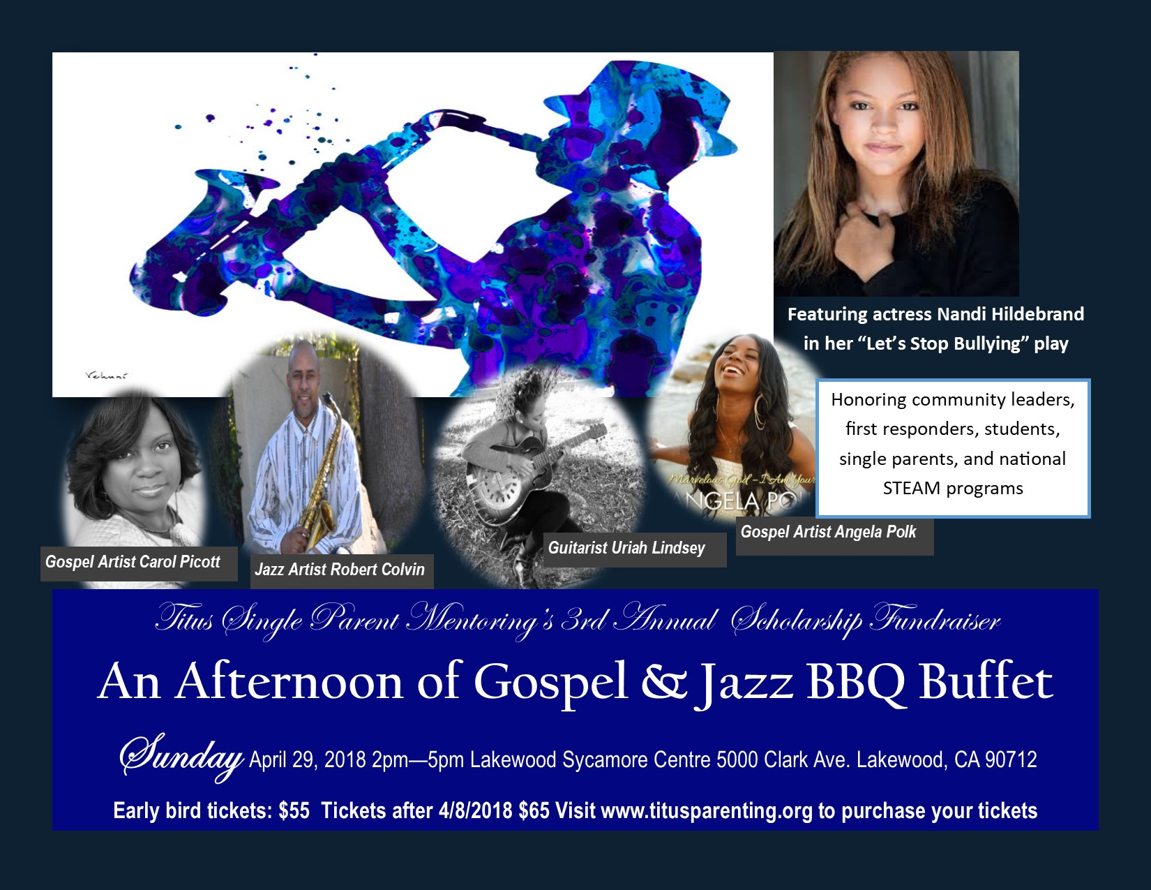 An Afternoon of Gospel & Jazz and BBQ Buffet