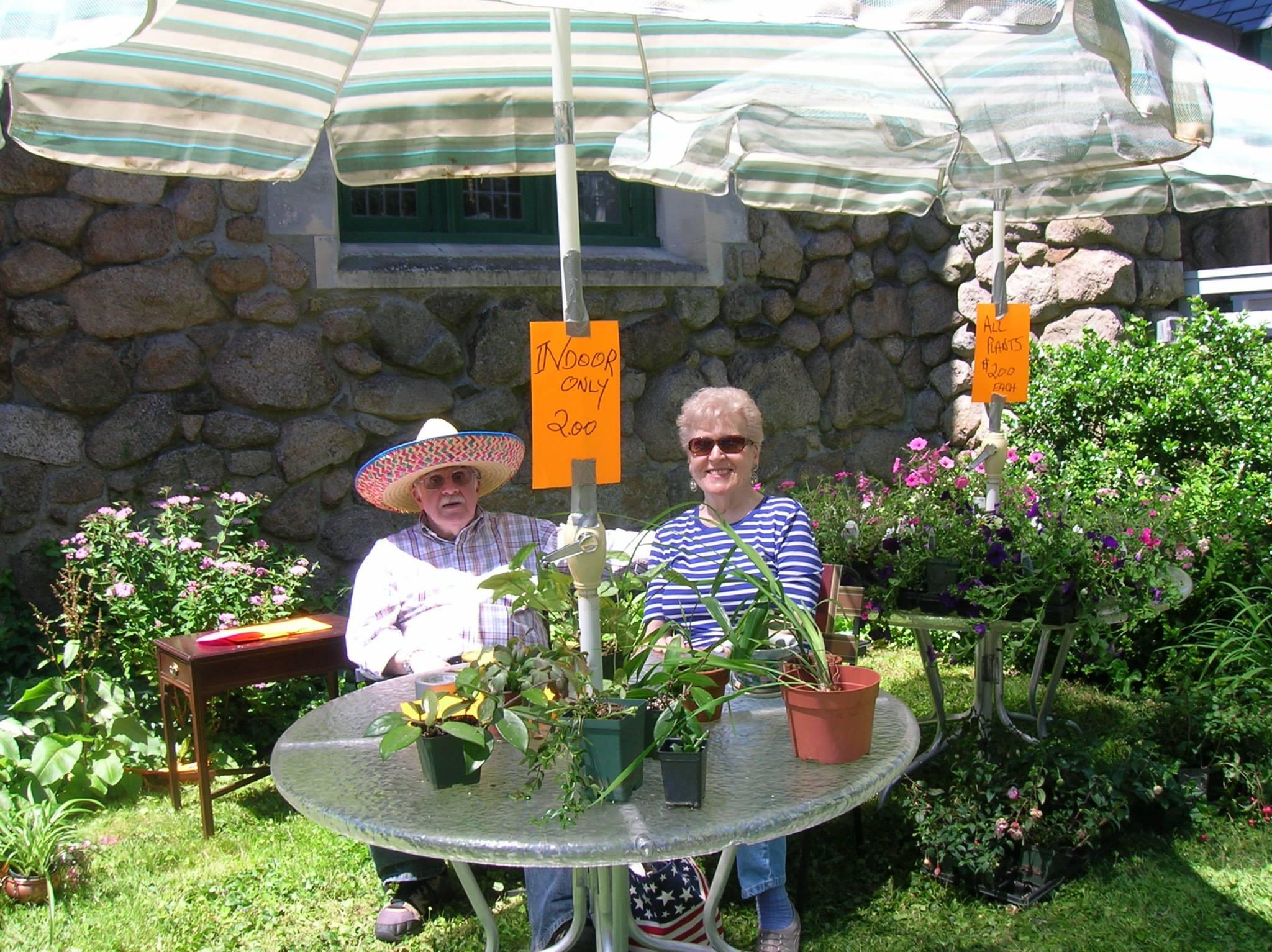 Plants at Yard Sale