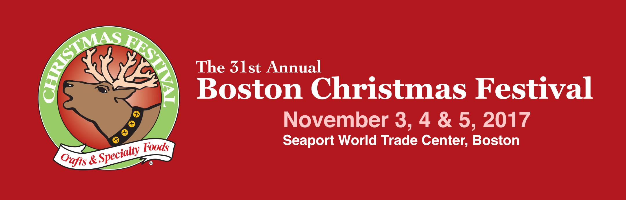 Boston christmas festival tickets fri nov 3 2017 at 12 for Craft fair boston 2017