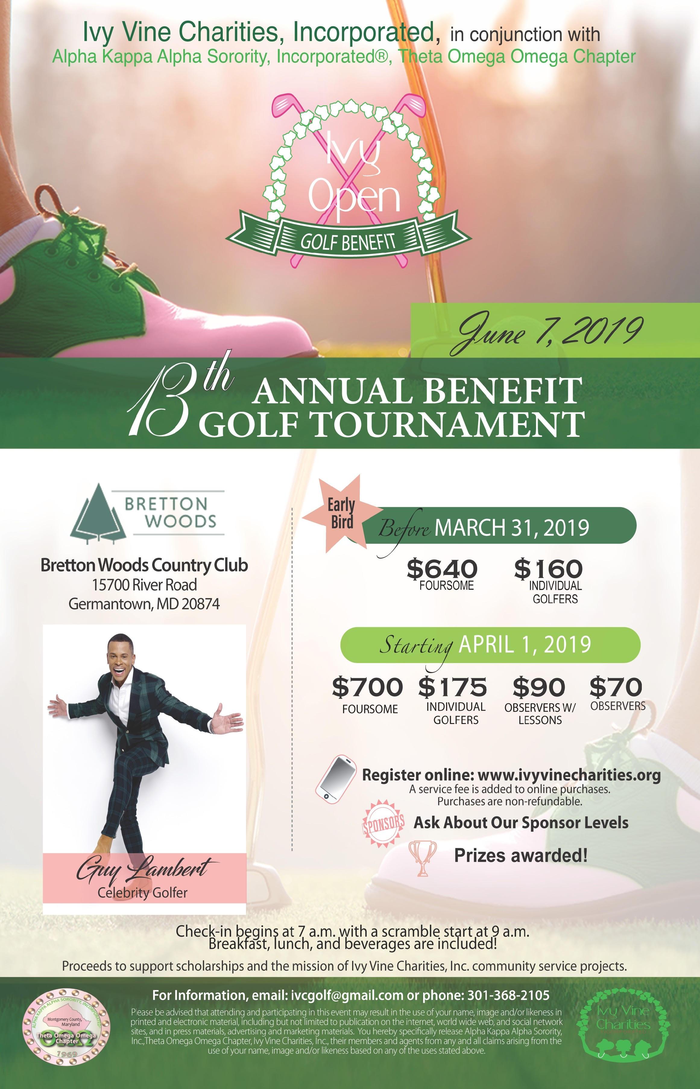 14th Annual Benefit Golf Tournament