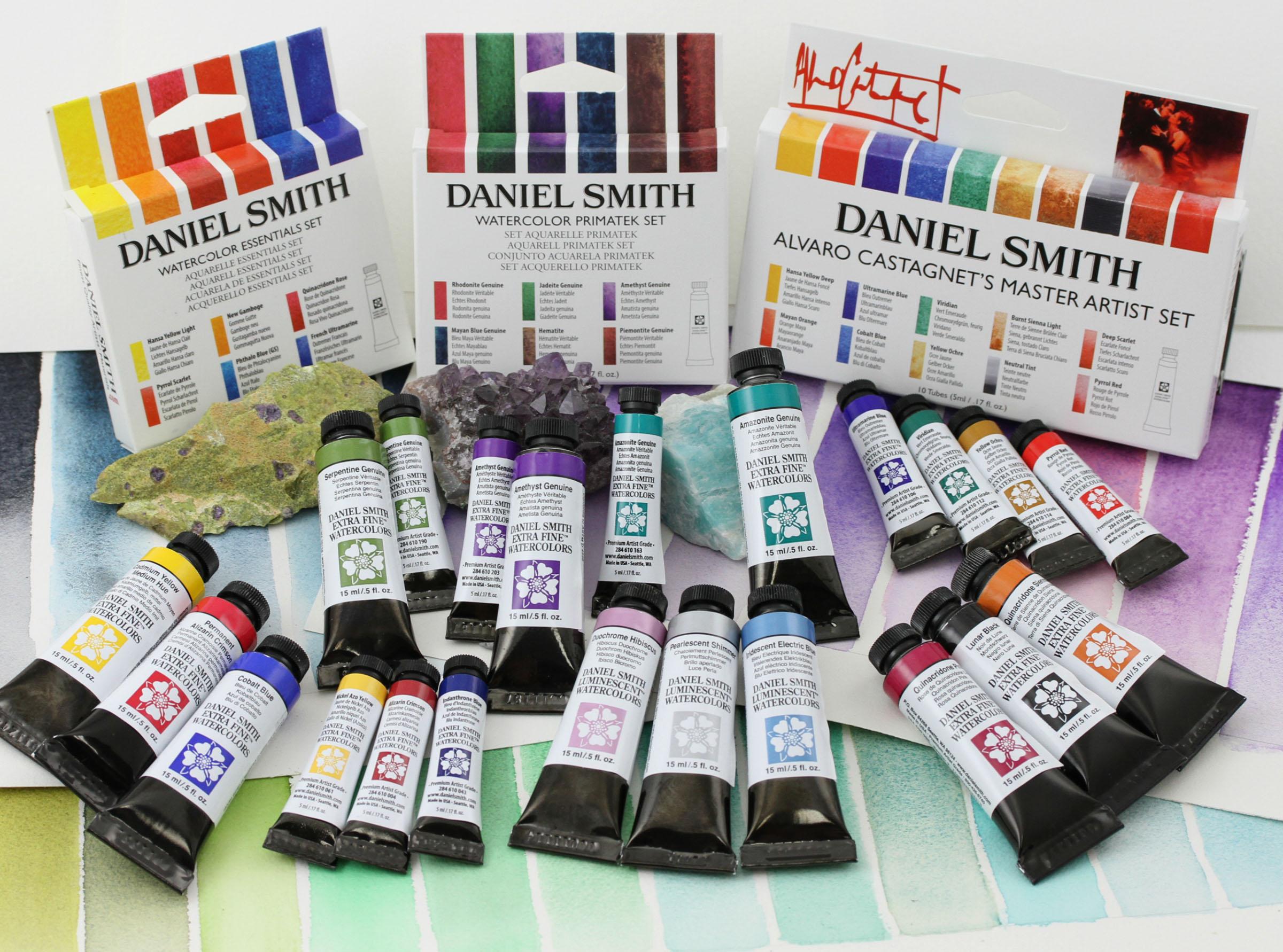 Daniel Smith Watercolor Paints