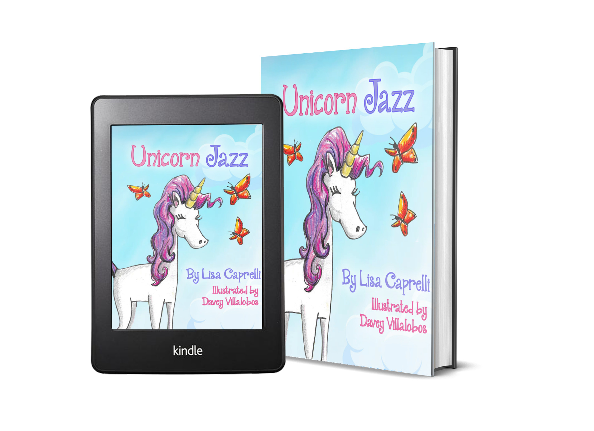 Unicorn Jazz unicorn book for girls