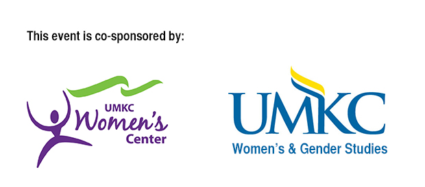 Logos for UMKC Women's Center and UMKC's Women's & Gender Studies