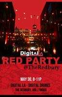 Digital LA - Red Party: Digital Drinks @ Redbury