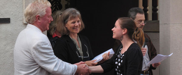 Weston Scholarship winner