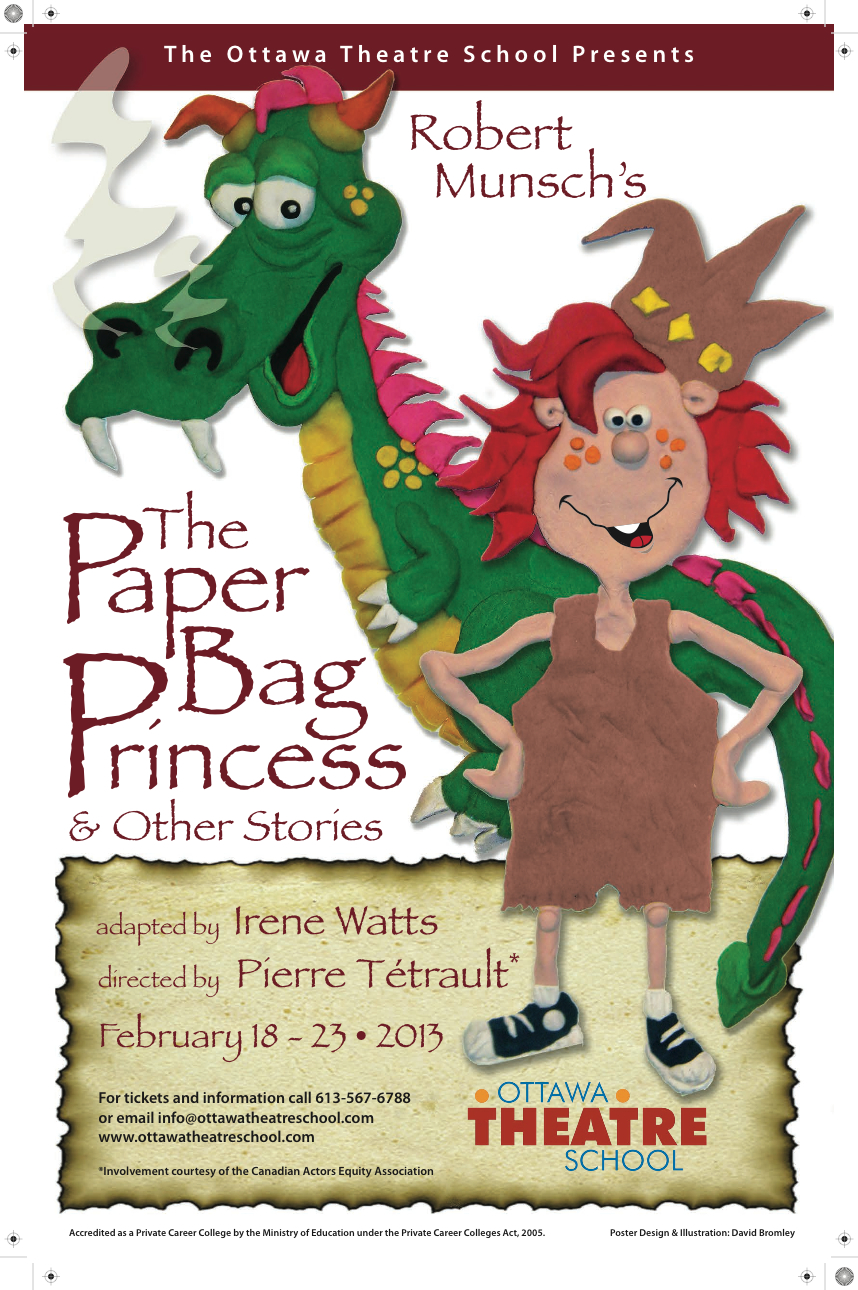 Paper bag princess poster