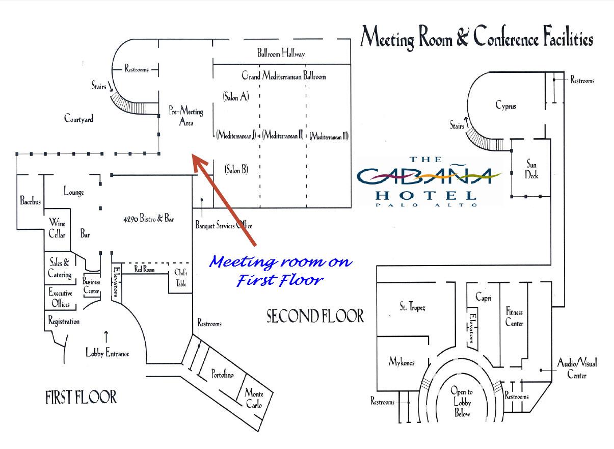 Grand Ballroom Map Hotel Cabana