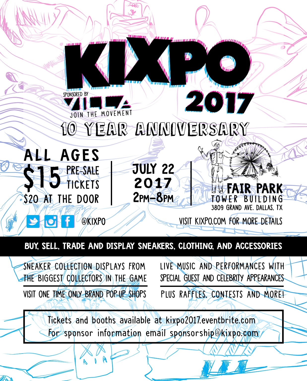 Kixpo 2017 Presented by Villa Flyer