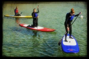 Learn to Stand Up Paddleboard (SUP) with SurfSUPNI.com -...