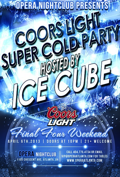 Coors Super Cold Party