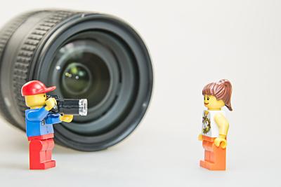 Lego Fotografo