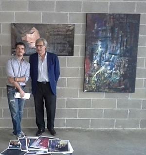 Vittorio Sgarbi e Emanuele Maria Gerbino