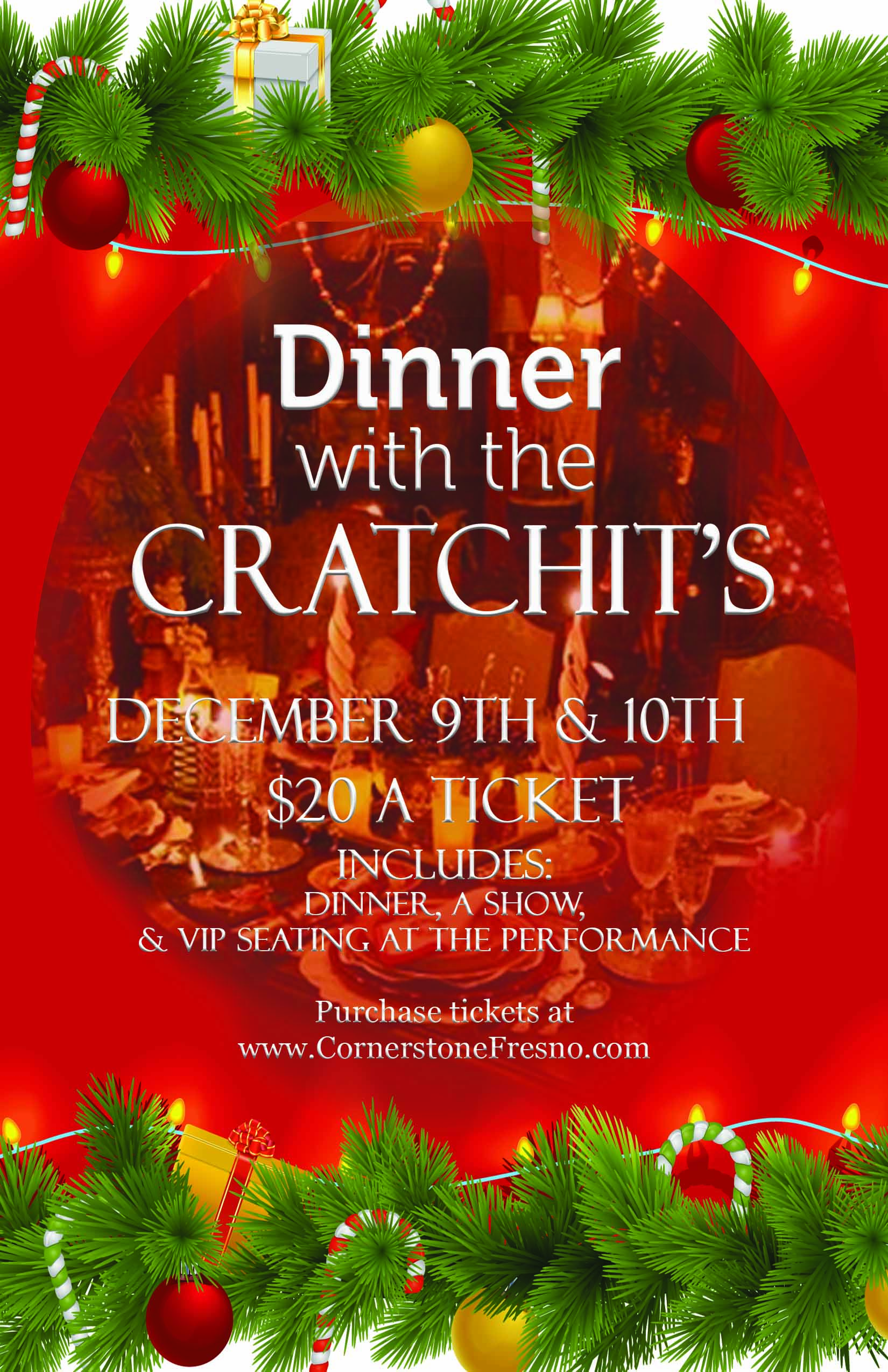 Dinner with the Cratchit's