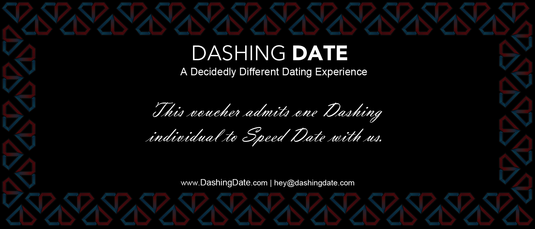 Speed dating vouchers