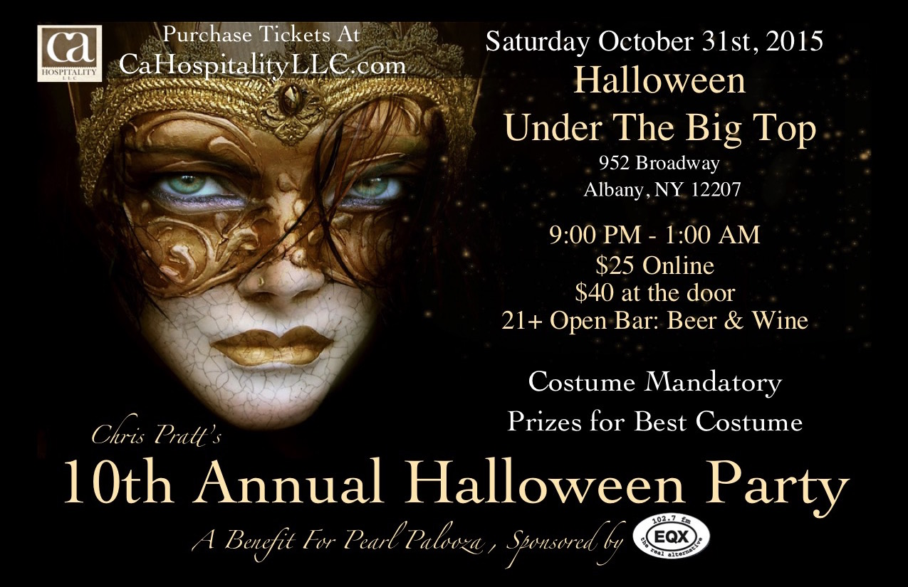 Halloween Under The Big Top Tickets, Sat, Oct 31, 2015 at 9:00 PM ...