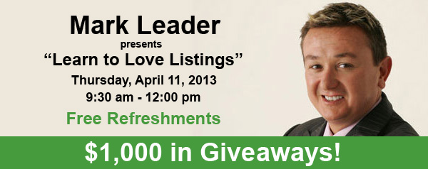 Mark Leader Learn to Love Listings