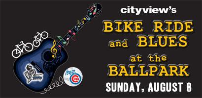 Bike Ride & Blues at the Ballpark