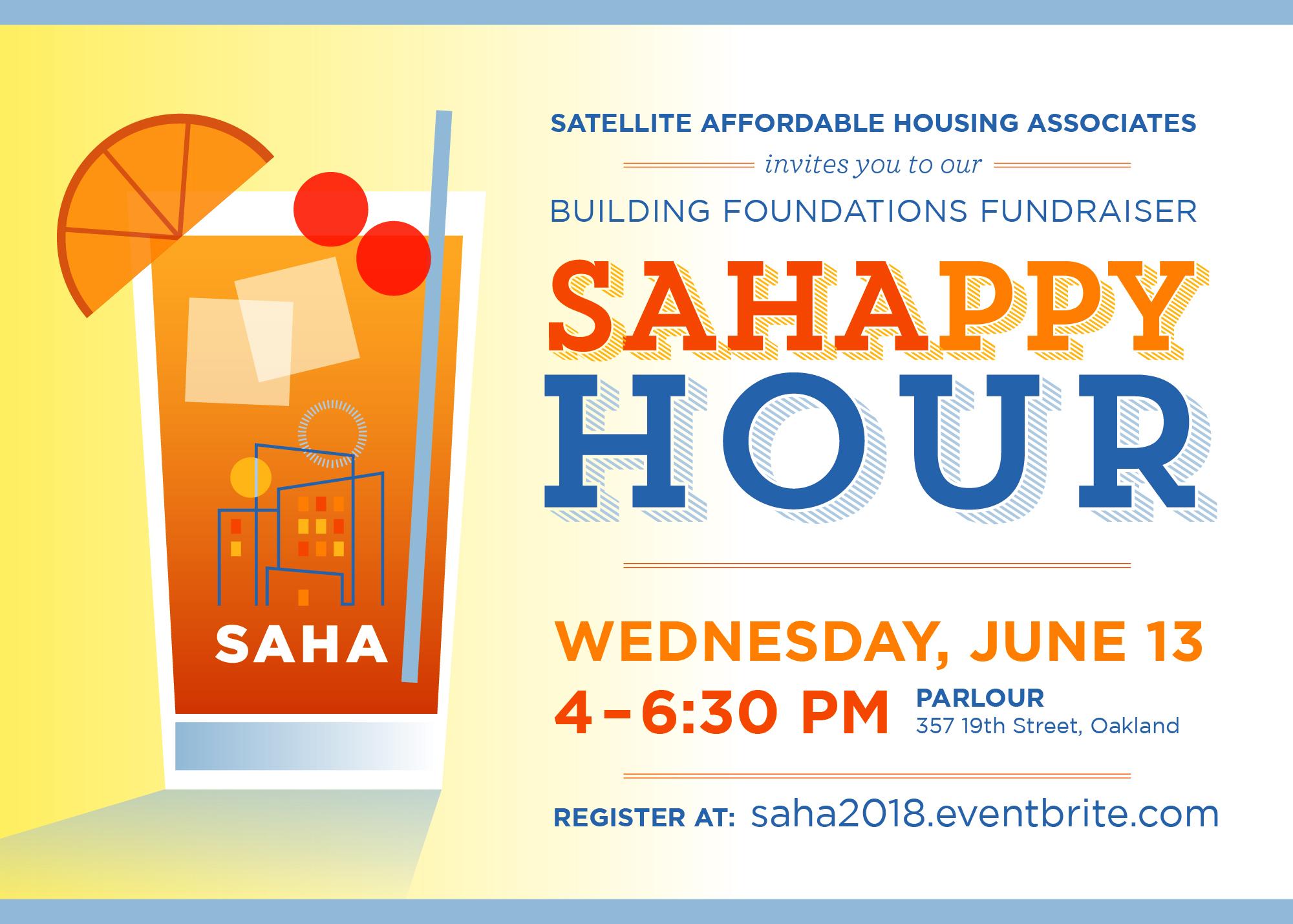SAHAppy Hour Logo