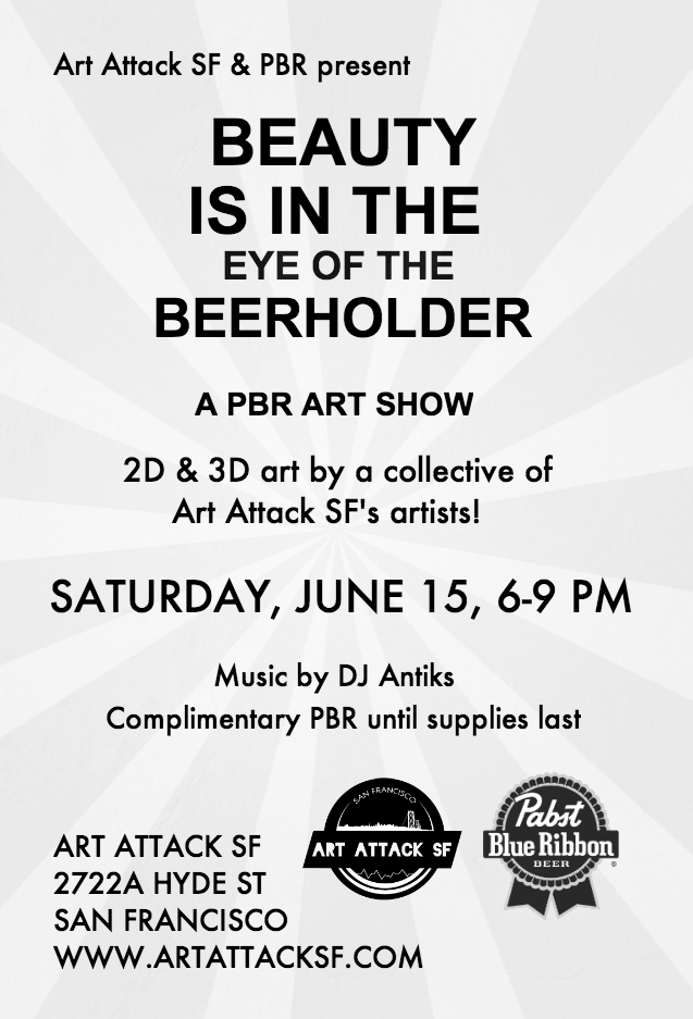 Art attack pbr show back