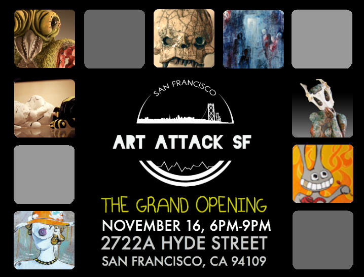 Art Attack SF Grand Opening Img