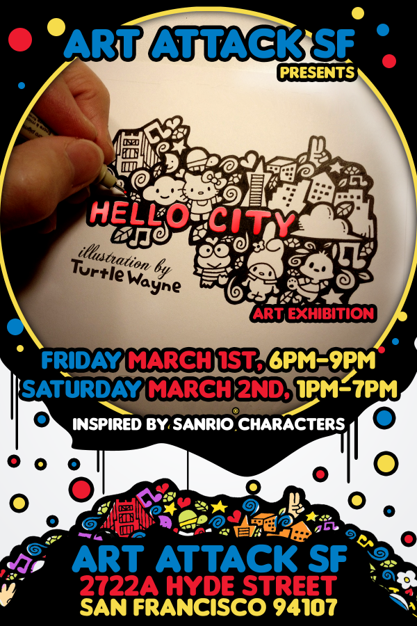 Art Attack SF - Hello City