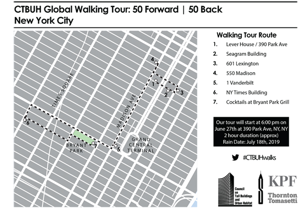 Map and Details: Walking Tour