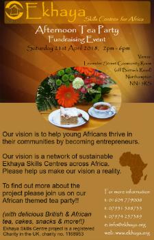 Ekhaya fundraiser leaflet