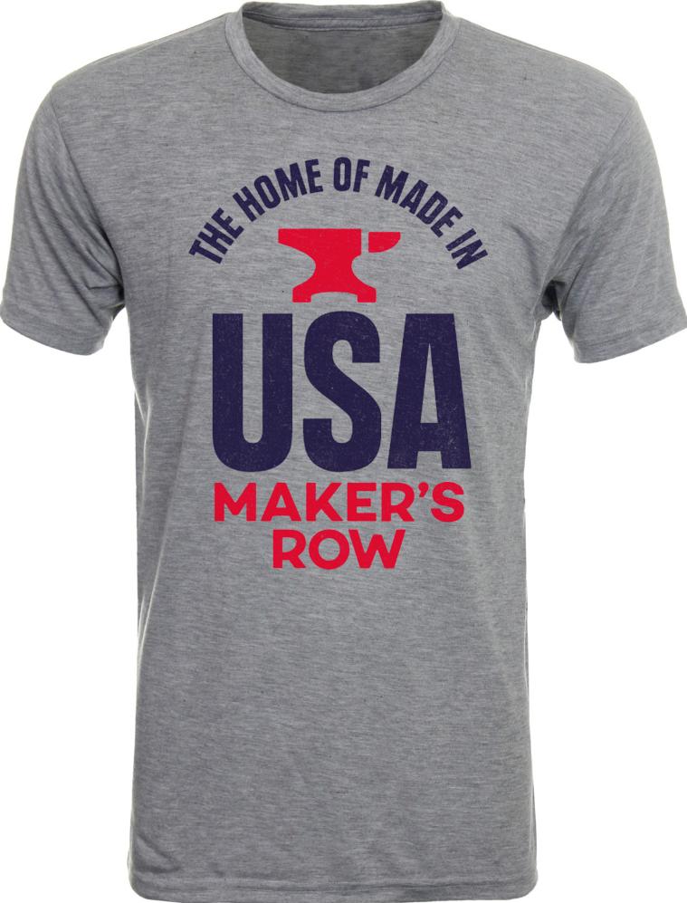 Maker's Row T-Shirt