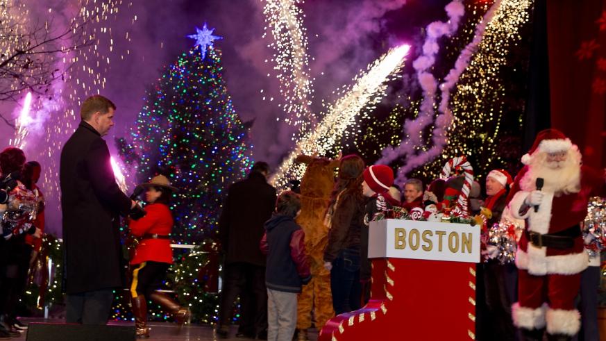 Christmas In Boston 2019.2019 Boston Common Tree Lighting Ceremony Wbop Promotions