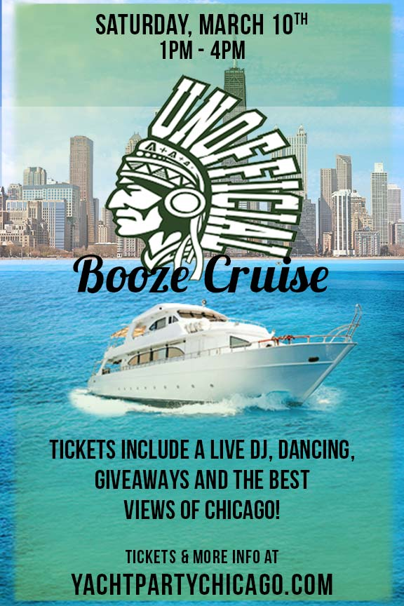Unofficial in Chicago Booze Cruise Party - Tickets include a Live DJ, Dancing, Giveaways, and the best views of Chicago!