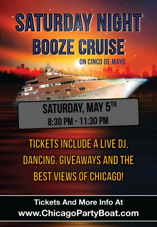 Tickets include a Live DJ, Dancing, Giveaways, and the best views of Chicago!