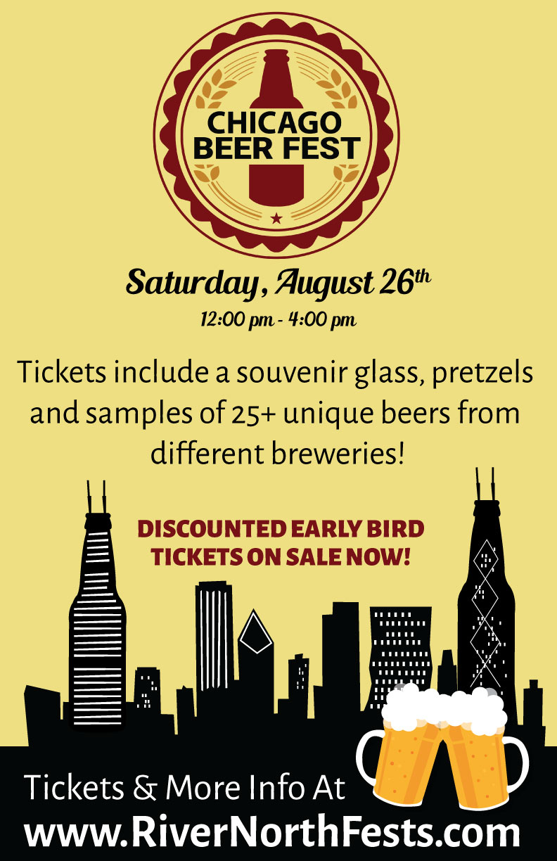 Chicago Beer Fest Party - Tickets include: Samples of 25+ different beers, a souvenir glass, pretzels, giveaways & more! 