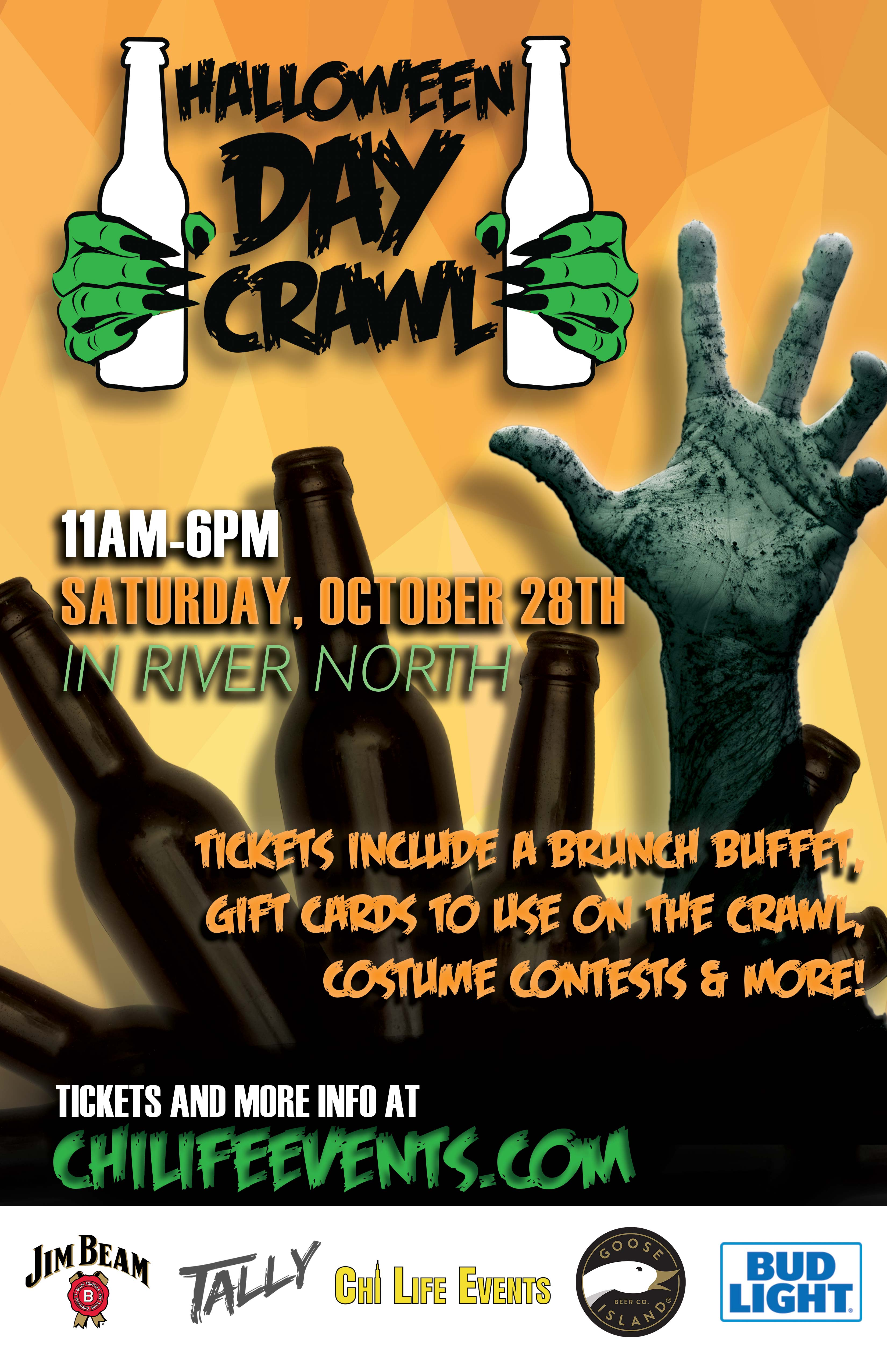 2017 Halloween Day Crawl in Chicago! Tickets, Sat, Oct 28, 2017 at ...